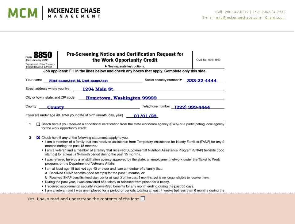 Mcms Wotc Online Help